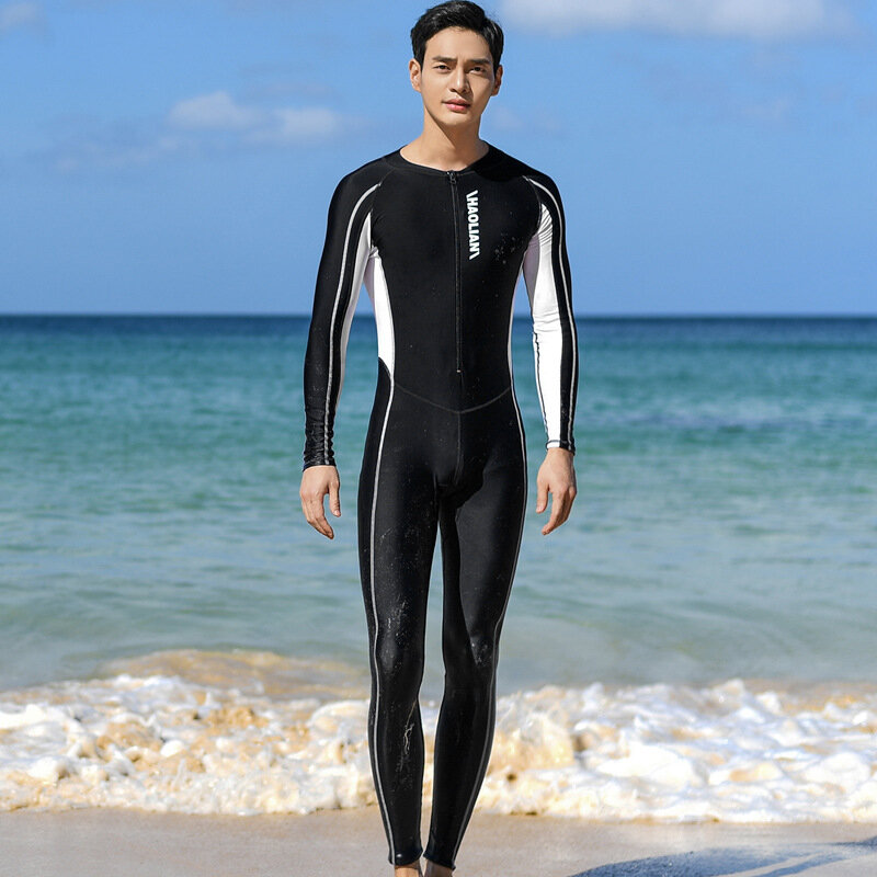 ملابس سباحة واقية من الأشعة فوق البنفسجية بدلات ستنغر بدل سباحة للرجال من قطعة واحدة ملابس سباحة بأكمام قصيرة بدلة سباحة ملابس شاطئ