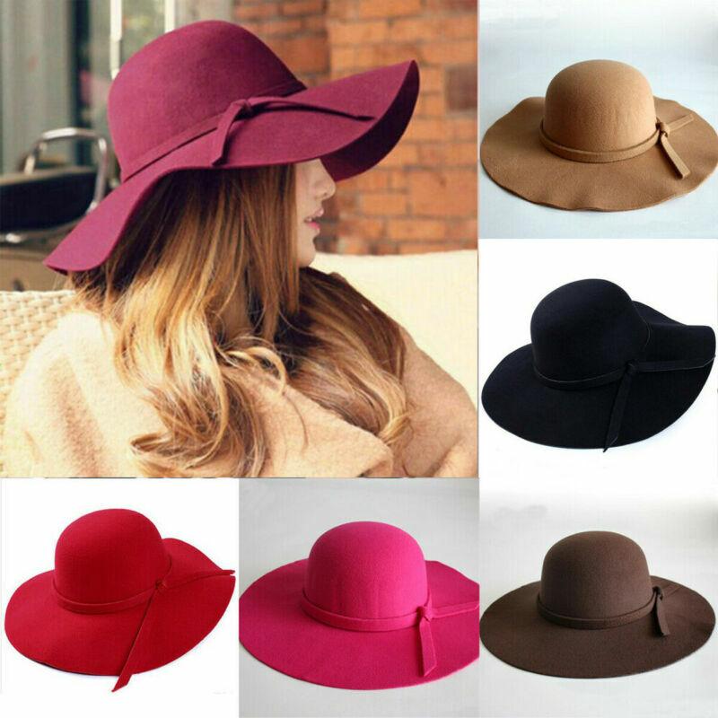 جديد المرأة قبعة الشمس سيدة خمر واسعة كبيرة ورأى الصوف قبعة الصيف عادية شاطئ السفر المرنة قبعة الشمس هدية