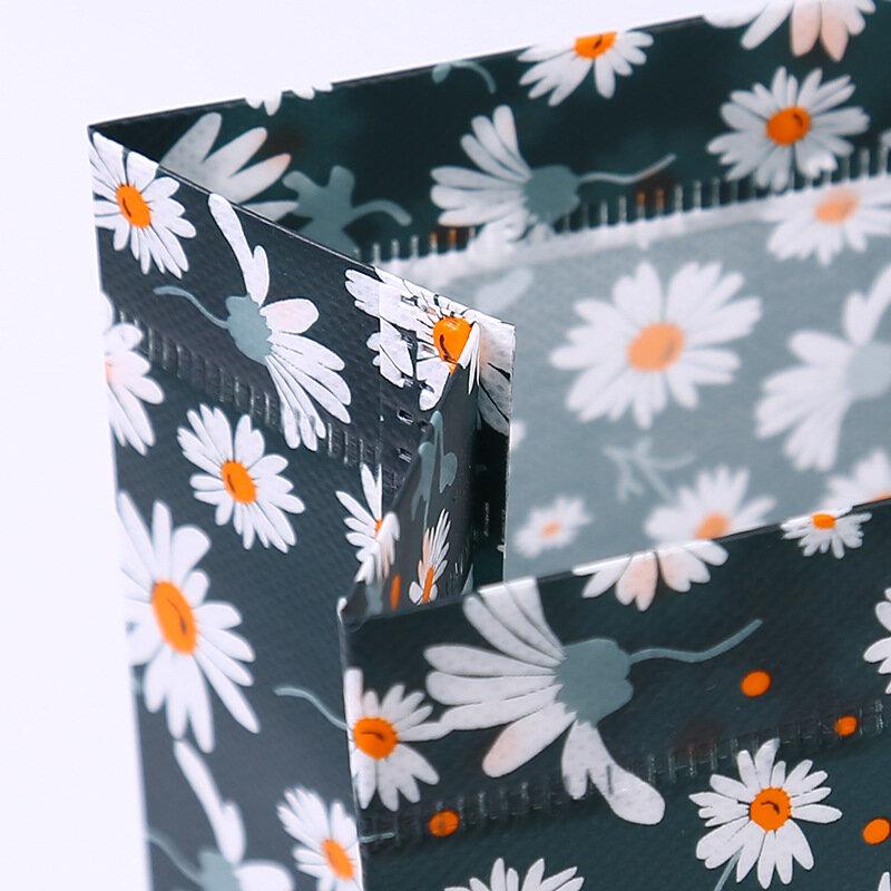 مطبوعة ليتل ديزي حقائب مغلفة حقائب مريحة غير حقائب منسوجة حقائب التسوق المحمولة دائم متجر الملابس حقائب اليد