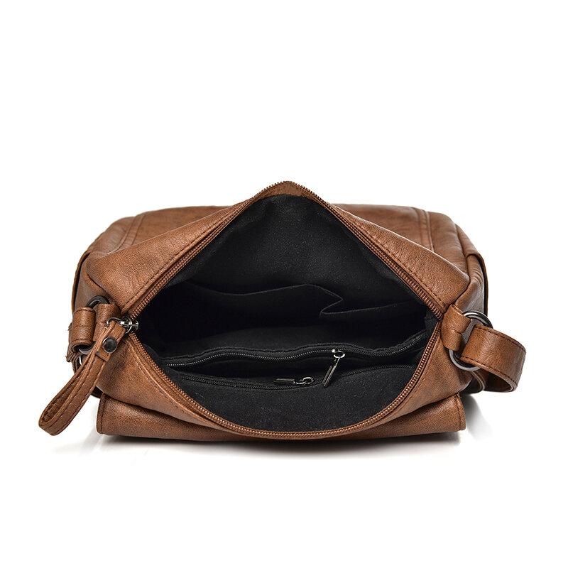 نساء موضة حقائب جلدية عالية الجودة الفاخرة السيدات حقائب كتف السيدات مصمم النساء حقائب ساعي مموهة للإناث