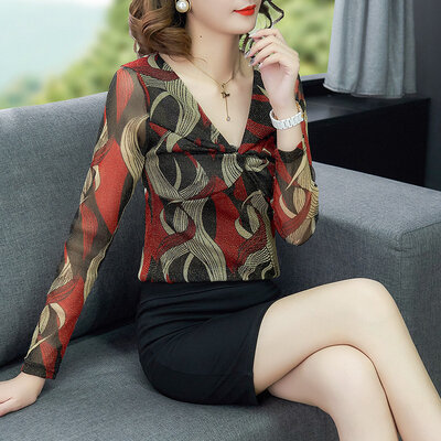 J20131230 AK38 جودة عالية لون الموضة الكلاسيكية تصميم المرأة قميص غير رسمي