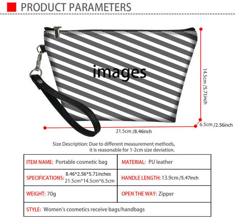 اين isart-علبة تخزين مستحضرات التجميل للسفر للنساء ، علبة مكياج ، مستحضرات تجميل هاواي متدرجة ، حقيبة أدوات الزينة