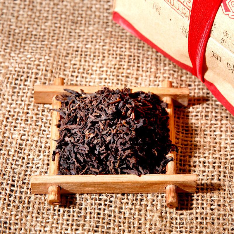 500 جرام الصين يوننان جيشون هاو تشن نيان أقدم شاي بوير المطبوخ ناضجة بوير الشاي بوير الغذاء الأخضر للرعاية الصحية فقدان الوزن