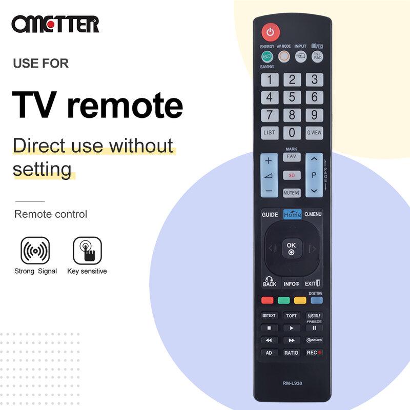 جهاز التحكم عن بعد IR RM-L930 وحدة تحكم لاسلكية AKB73615303 ل LG ثلاثية الأبعاد الذكية LED تلفاز LCD جودة عالية