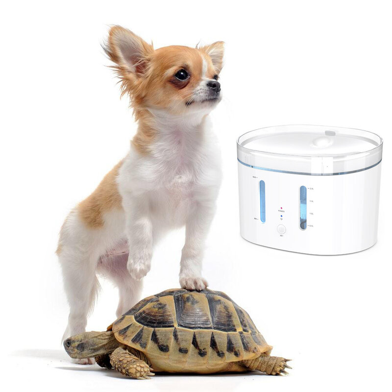واي فاي اتصال تويا App التحكم الذكية التلقائي وعاء مياه الحيوانات الأليفة الكلاب القطط الحيوانات الأليفة وعاء مياه نظيفة نافورة