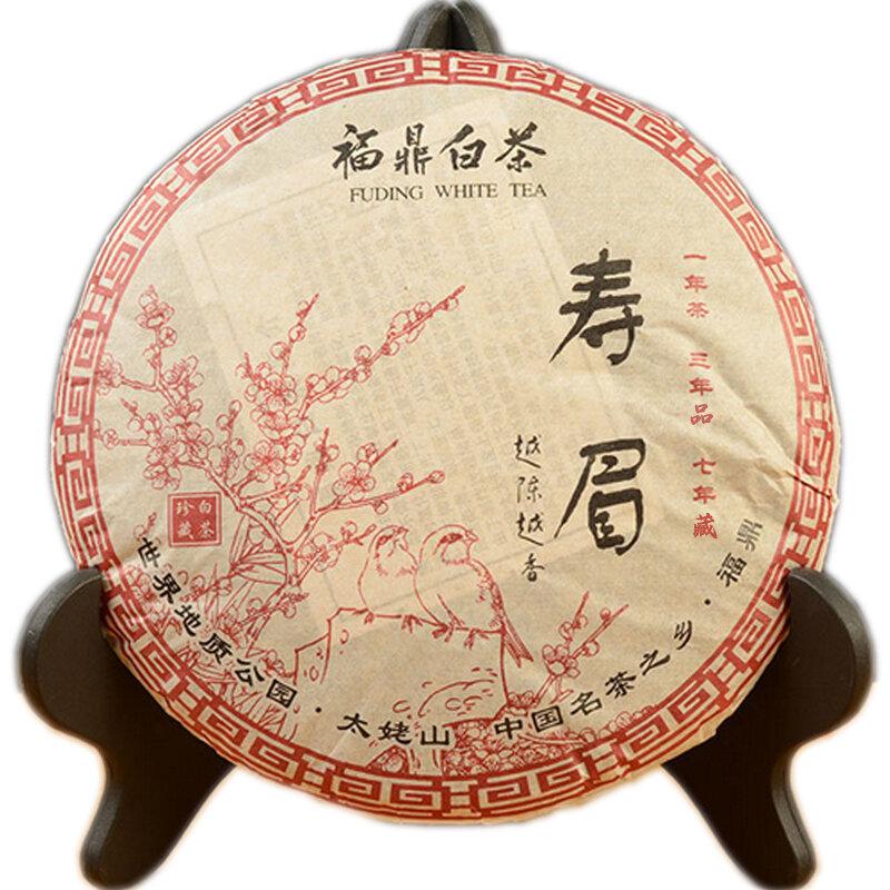 """2018 FuDing """"لاو شو مي"""" الشاي الصيني الأبيض ارتفاع جبل باي تشا الشاي الصيني الأبيض من فوجيان 350g"""