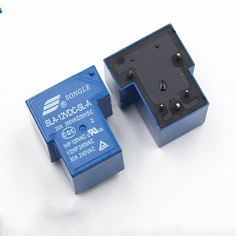 10 قطعة السلطة التبديلات SLA-12VDC-SL-A 12 فولت 30A 5PIN T90 مجموعة من مفتوحة عادة جديدة ومبتكرة
