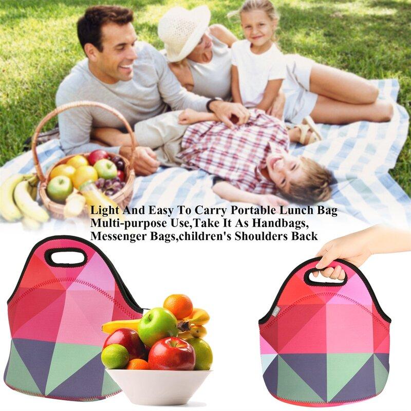 أوتاد شخصية الموضة مفيد المحمولة دائم الغوص المواد حقيبة حمل الغذاء حزمة