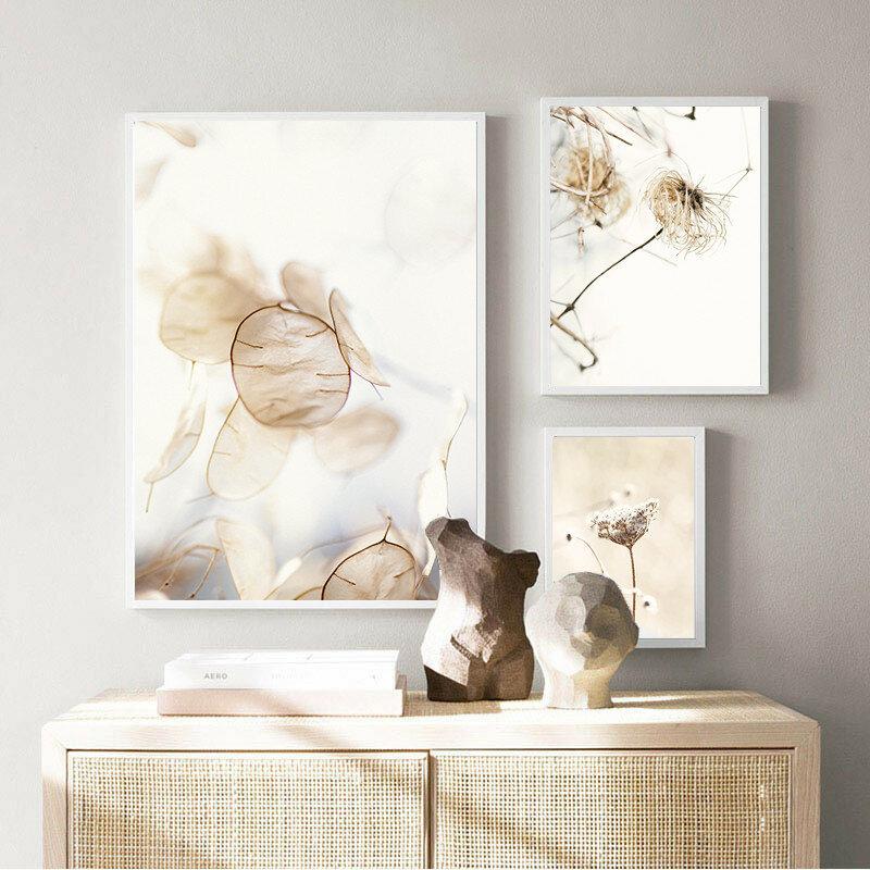 المجففة زهرة العشب ريد شاطئ طبيعة المشهد الرسم على لوحات القماش الجدارية الملصقات والمطبوعات جدار صور لغرفة المعيشة ديكور