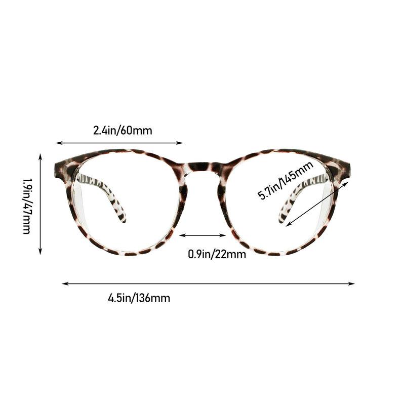 أنيق نظارات السلامة المستديرة خفيفة مكافحة الضباب النساء موضة حماية العين الضوء الأزرق حجب نظارات مسطحة مع الدروع الجانبية