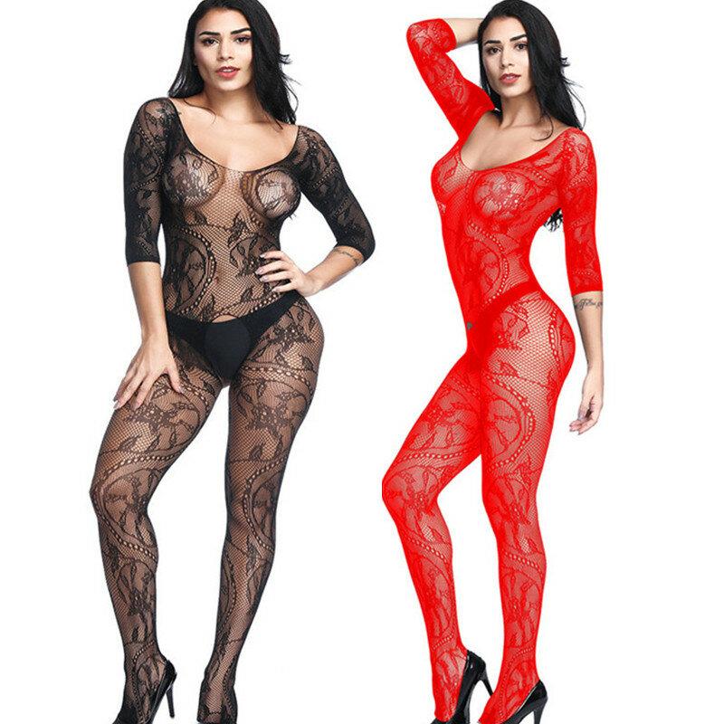نساء مثير جوارب كامل رومبير للنساء العشير زلات مثير داخلية الجنس lingeri medias دي mujere بذلة طقم داخلي للجسم