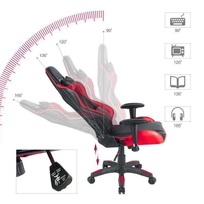 عالية الجودة كرسي الكمبيوتر WCG كرسي ألعاب الفيديو والجلود الإنترنت LOL الإنترنت مقهى كرسي مكتب بعجل كراسي مكتب أثاث المنزل HWC