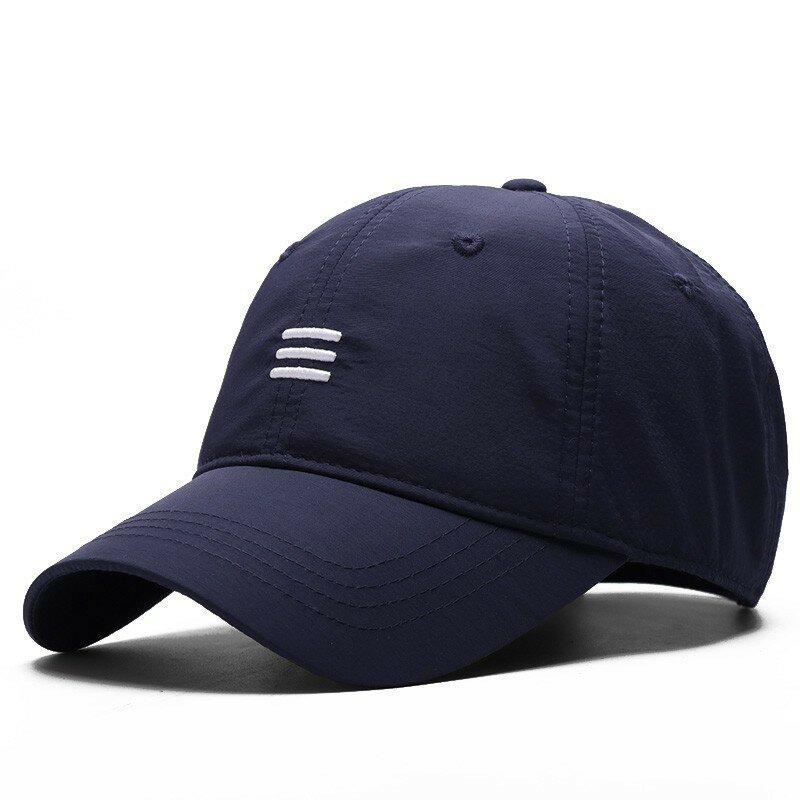 كبير رئيس رجل حجم كبير قبعة بيسبول الرجال الصيف رقيقة النسيج شبكة قبعة الشمس الذكور قبعات ترد لمكانها م 55-59 سنتيمتر L 60-64 سنتيمتر