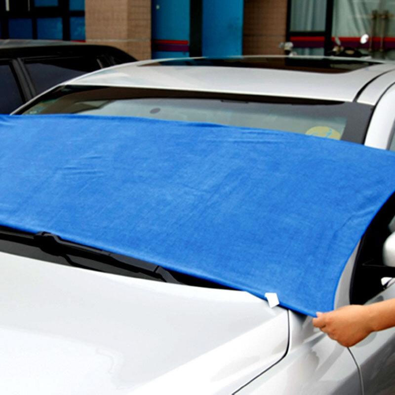 60*160 سنتيمتر كبير منشفة من الألياف الدقيقة تنظيف الخرق سوبر ماصة فوطة غسيل سيارات سيارة تنظيف تجفيف القماش سيارة بالتفصيل