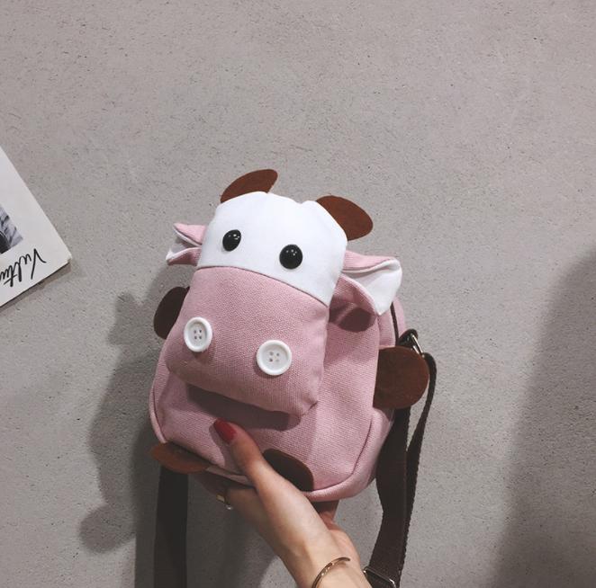 حقيبة ظهر قطيفة للأطفال ، حقيبة ظهر لطيفة على شكل ورقة شجر خضراء ، حقيبة مدرسية على شكل حيوانات ، ألعاب ، هدايا عيد الميلاد والكريسماس
