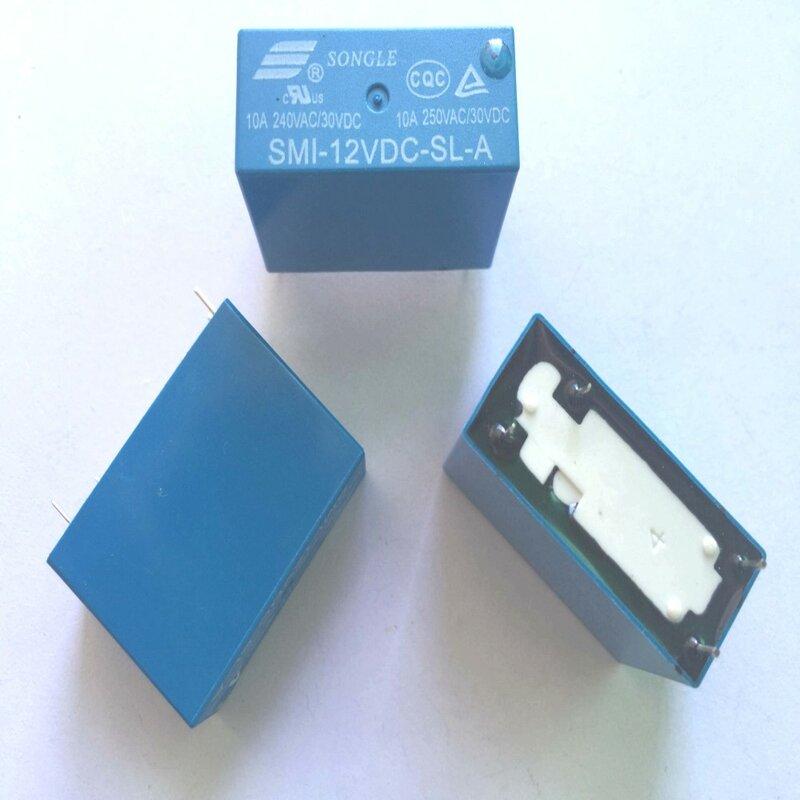 10 قطعة السلطة التبديلات SMI-12VDC-SL-A 12 فولت 10A 4PIN التتابع جديد الأصلي أسعار الجملة