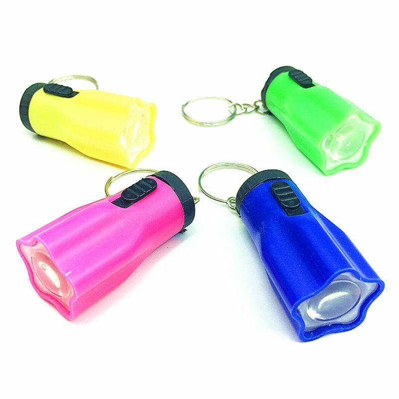سلسلة مفاتيح صغيرة بإضاءة LED للأطفال ، ألعاب ، هدايا ، أدوات ، حقيبة ، قلادة