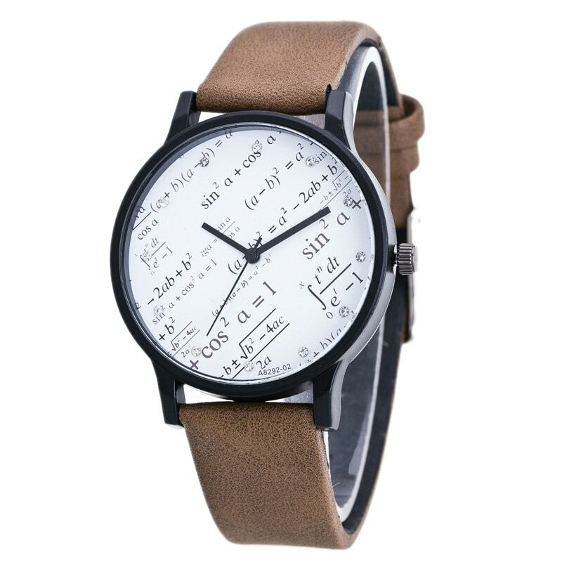 جديد رياضي الرجال ساعة عناصر الهندسة طالب ساعة اتجاهات الأزواج الساعات موضة شخصية تصميم الأزواج الساعات