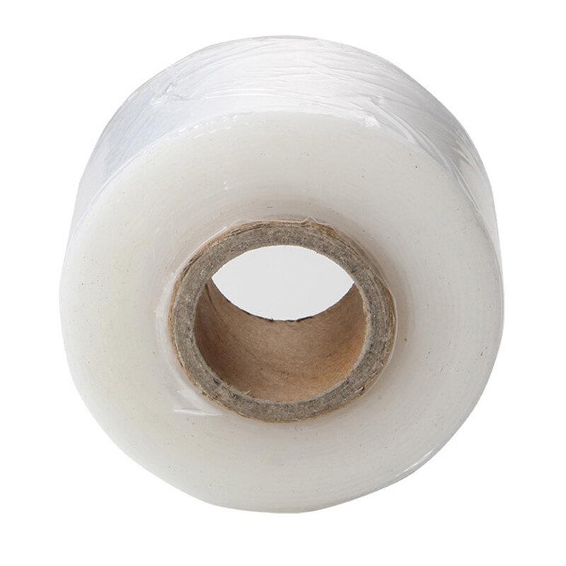3 سنتيمتر تطعيم الشريط الأبيض واحدة المطعمة لفافة تغليف شفافة لفة الشريط Parafilm التقليم Strecth الكسب غير المشروع حديقة إصلاح البذور