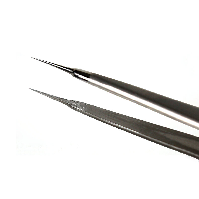 عالية الدقة ثلاثية الأبعاد الملقط لإصلاح الهاتف المحمول الفولاذ المقاوم للصدأ تحلق سلك الملقط سوبر الثابت اضافية نقطة الملقط