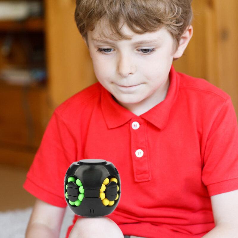 جديد لغز ليتل بين الدورية همبرغر مكعب أعلى 2 في 1 3x3x3 سرعة مكعب ألعاب تعليمية الإجهاد المخلص اللعب