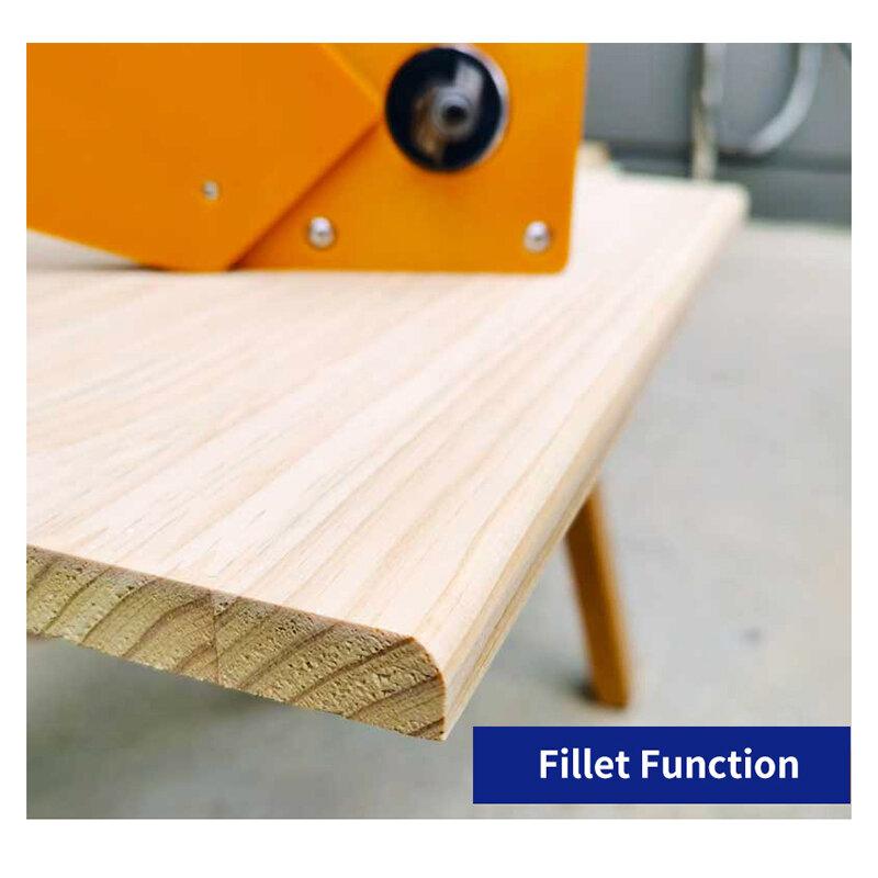 دائرة قطع الرقصة التوازن المجلس للخشب الموجهات طحن دائرة التشذيب آلة مع الانتهازي قاعدة النجارة حافة القاطع