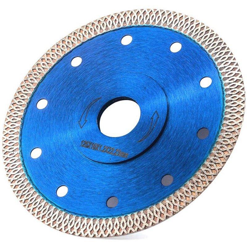 3 قطعة 125 مللي متر توربو منشار دائري للالماس شفرة القرص ل الماس الخشب أسطوانة تقطيع السيراميك بلاط بورسلين زاوية طاحونة