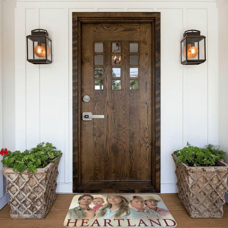 Heart land ~ عرض ممسحة السجاد حصيرة البساط البوليستر المضادة للانزلاق الطابق ديكور حمام الحمام المطبخ شرفة 40x60