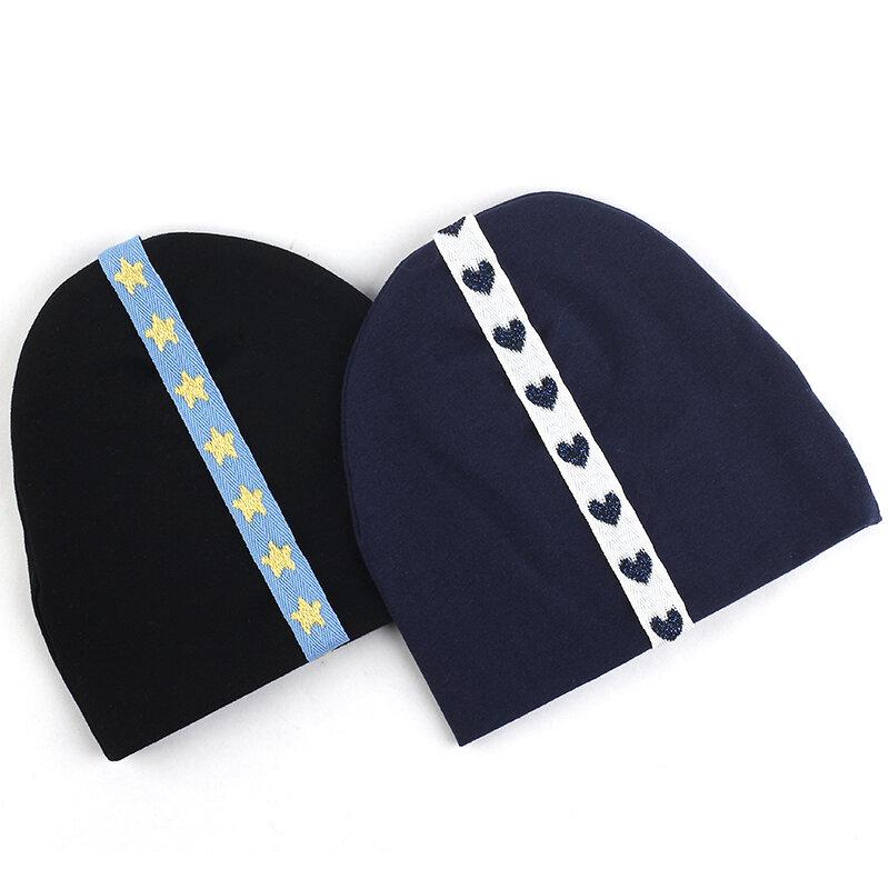 قبعة أطفال ، قبعة دافئة للشتاء والخريف للأطفال الصغار ، متينة مع إكسسوارات جميلة ، مجموعة جديدة 2020