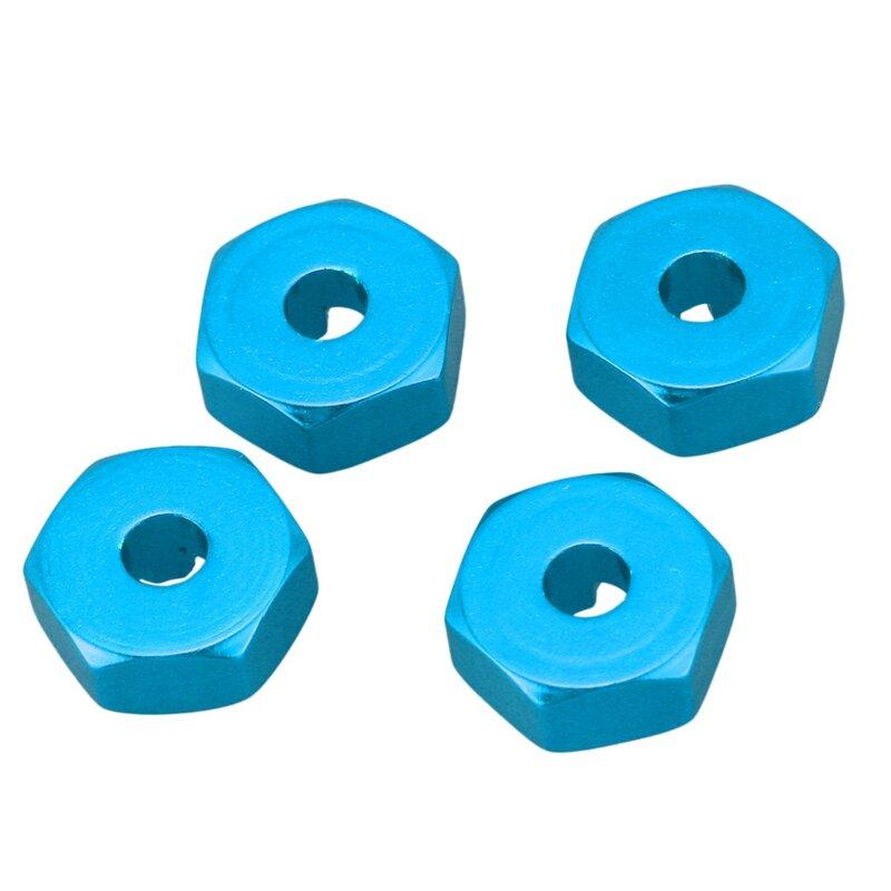 سبائك الألومنيوم 12 مللي متر الموحد محور عجلات محول عرافة ترقيات ل Wltoys 144001 1/14 و 144001-1257 المضادة للصدمات الوفير