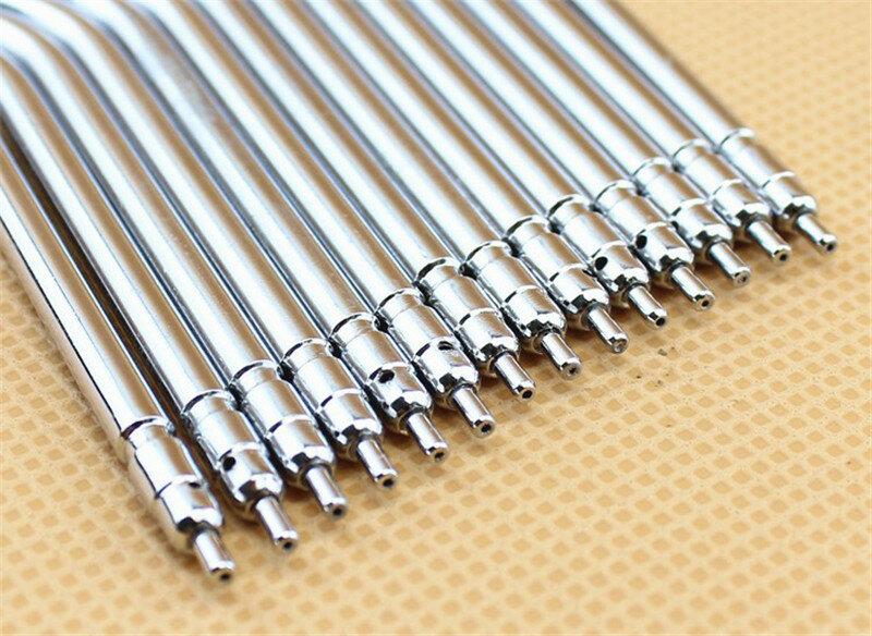 10 قطعة/الحقيبة الأسنان ثلاثة طريقة الهواء حقنة رذاذ فوهات نصائح أنبوب الفولاذ المقاوم للصدأ حقنة فوهات لطبيب الأسنان ثلاثة طريقة بندقية