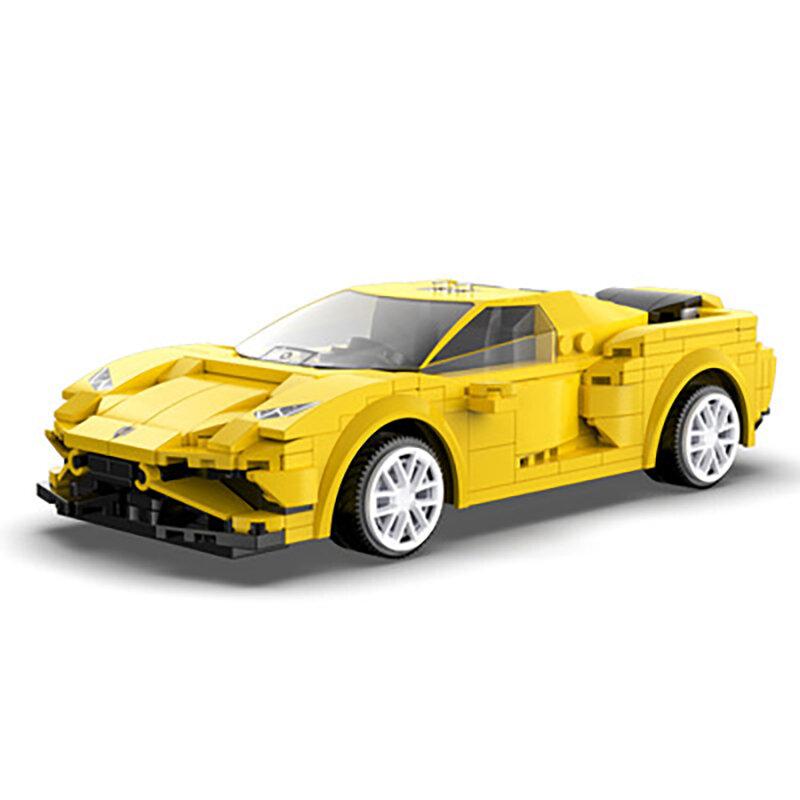 التطبيق برمجة التحكم عن بعد الرياضة نموذج سيارة اللبنات التقنية RC سيارة سباق الطوب الهدايا لعب للأطفال