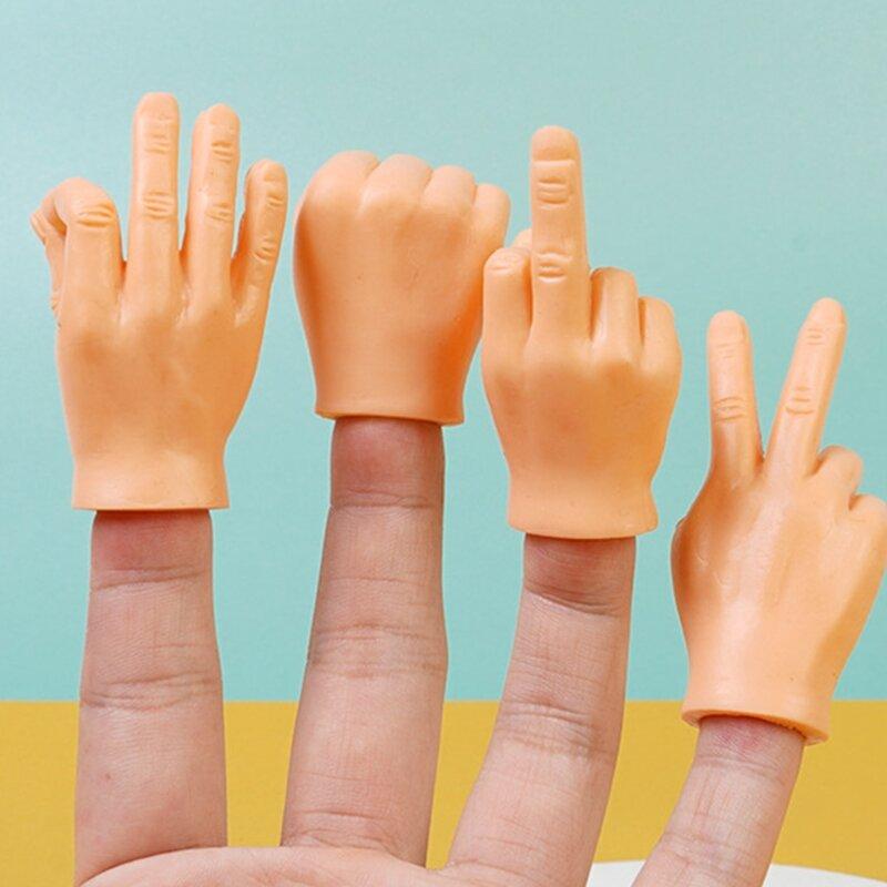 ألعاب إبداعية للكبار والأطفال ، أصابع مضيئة ، صغيرة ، للقطط والحيوانات الأليفة ، الكمامات ، حفلة ، الهالوين ، تأثيري ، 6 أنواع
