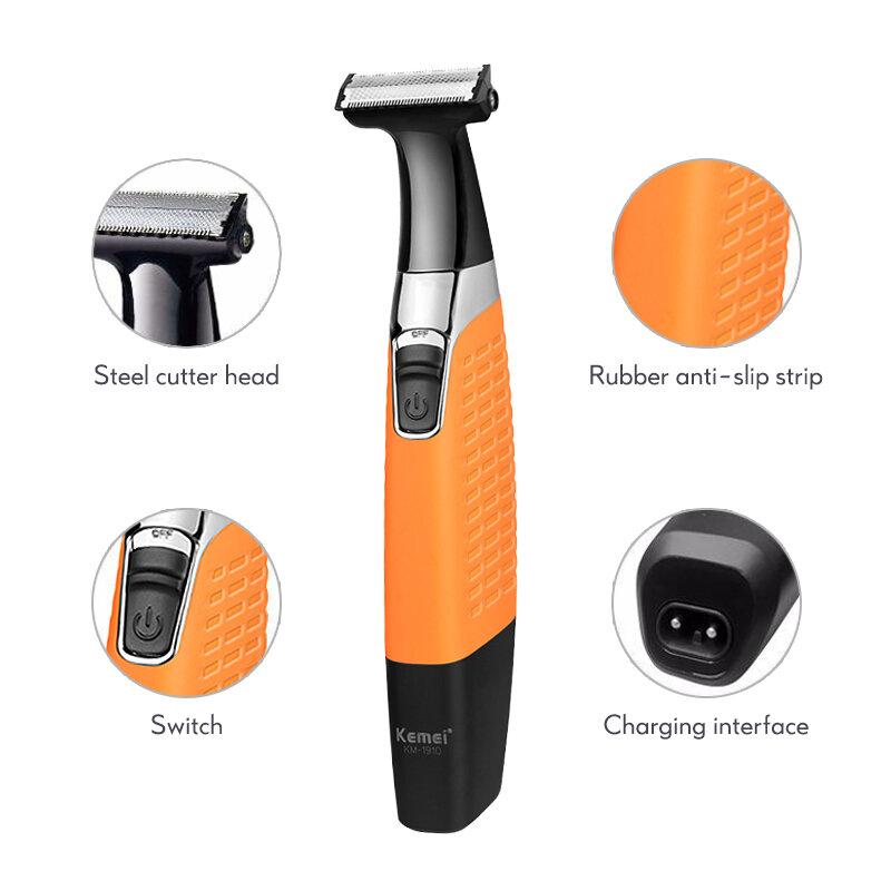 منتجات جديدة ماكينة حلاقة كهربائية للرجال قابلة للشحن اللحية مقاوم للماء الحلاقة المهنية الشعر ماكينة حلاقة ماكينة حلاقة الرأس