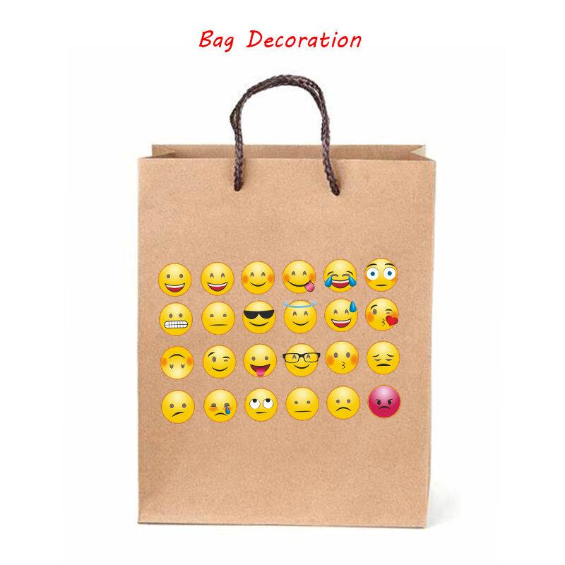 48 قطعة Smileys ملصقا ل دفتر مذكرات لطيف سعيد الوجه العاطفة ملصق سجل القصاصات المعلم مكافأة ملصق الاطفال الأطفال ملصقا