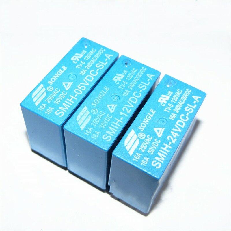 10 قطعة/الوحدة السلطة التبديلات SMIH-05VDC-SL-A 5 فولت 16A 6PIN مجموعة من التتابع الأصلي مفتوحة عادة