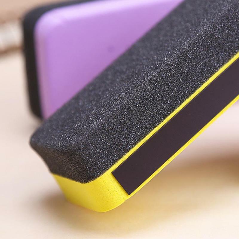 1 قطعة جودة عالية Hot البيع أحدث المغناطيسي الفانيلا السبورة البلاستيك نظافة مكتب مدرسة ممحاة ممحاة فرشاة لوازم Wi M7M0