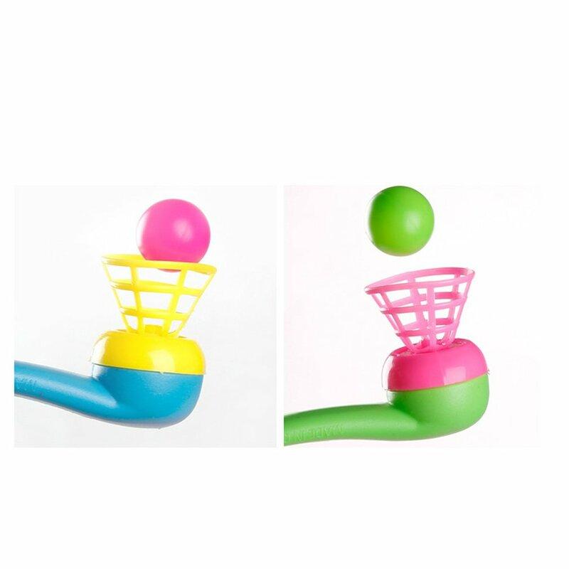 العائمة ضربة كرات أنبوب لعبة الكلاسيكية التقليدية البلاستيك تعليق تهب الكرة أذكر ألعاب أطفال هدايا عيد الاطفال