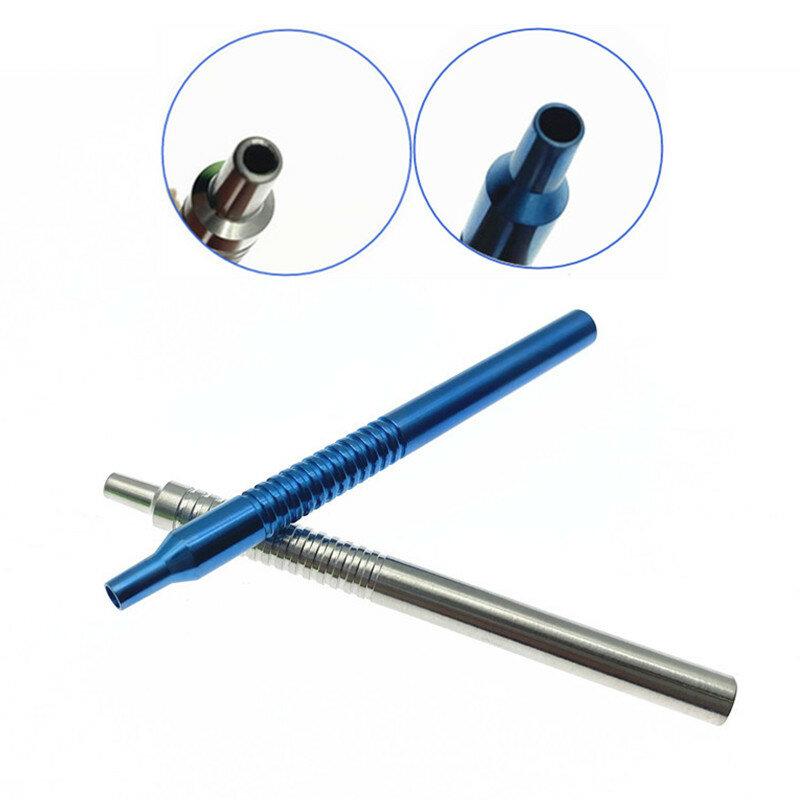 1 قطعة التسريب قبضة الفولاذ المقاوم للصدأ التيتانيوم مقبض 9 سنتيمتر العيون العين الآلات