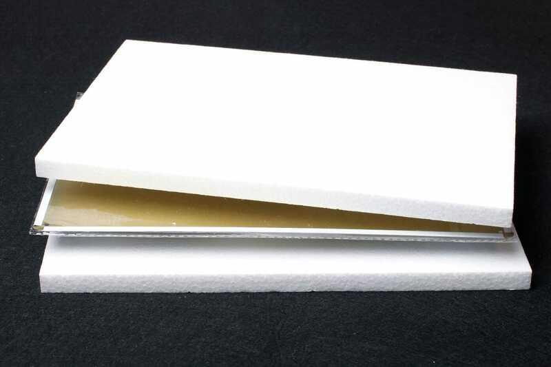 Deerts-علامة أوزة معدنية عتيقة ، 298VS ، 8x12 ، ألومنيوم