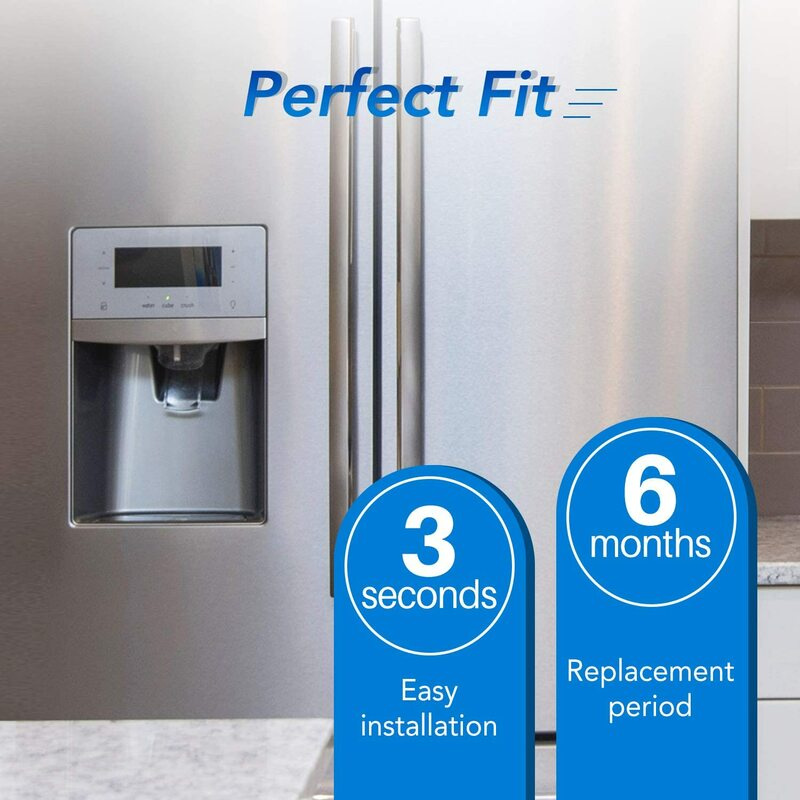 ICEPURE مصفاة لمياه الثلاجة بديل لـ LG LT1000P ، ADQ74793501 ، ADQ74793502 ، MDJ64844601 ، كنمور 46-9980 ، 9980