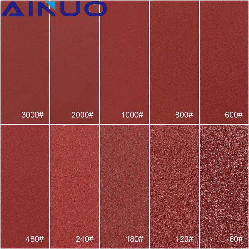 """300 قطعة 2 """"50 مللي متر الصنفرة ساندر القرص المداري دعم لوحات الإسفنج الوسادة مزيج الرملي تلميع P80-P3000"""