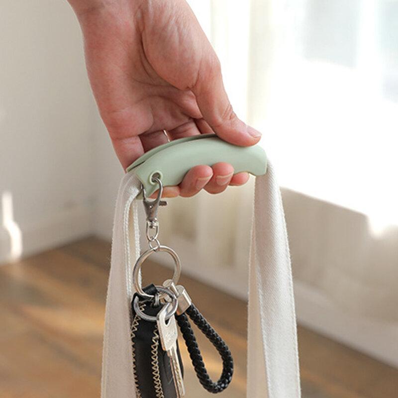 سيليكون المحمولة الخضار جهاز توفير العمالة حقيبة تسوق حامل حمل مع مقبض ثقب المفتاح قبضة مريحة حماية أداة اليد