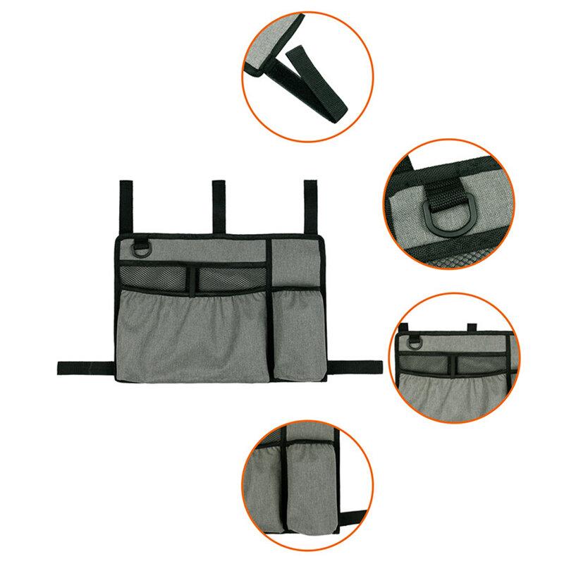 متعددة جيب أكسفورد النسيج حقيبة التخزين جهاز للمساعدة على المشي تخزين حزمة كرسي متحرك الجانب حقيبة تخزين قابلة للحمل حقيبة التخزين سعة كبير...