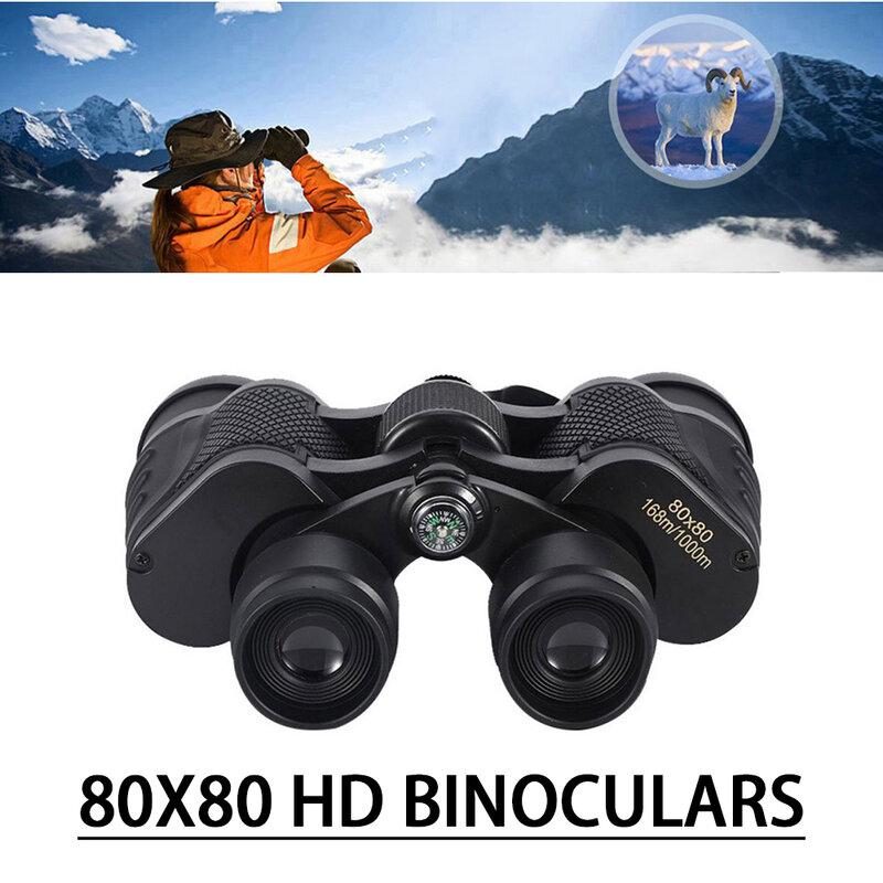 مناظير 80X80 طويلة المدى عالية الطاقة تلسكوب عدسة زجاجية بصرية منخفضة ضوء للرؤية الليلية الصيد تلسكوب للرياضة في الهواء الطلق