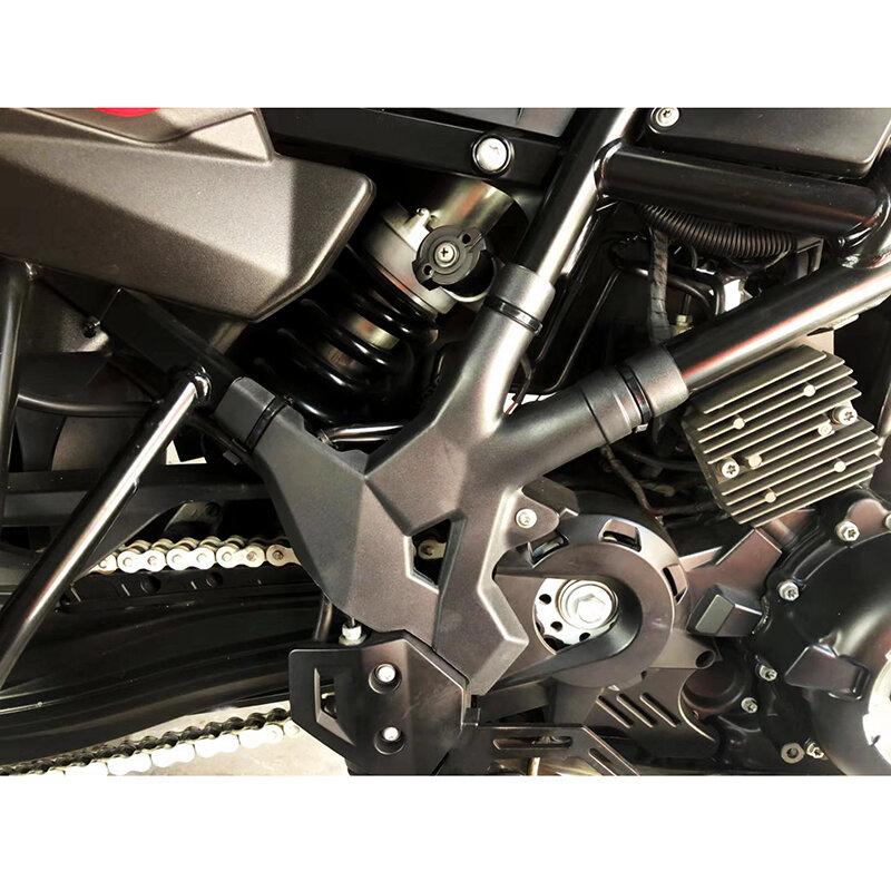 واقي الإطار العلوي للدراجة النارية ، مجموعة لوحة جانبية ، يسار ويمين ، يناسب BMW F700GS 2013-2018 ، F800GS ، F650GS ، 2008-2018