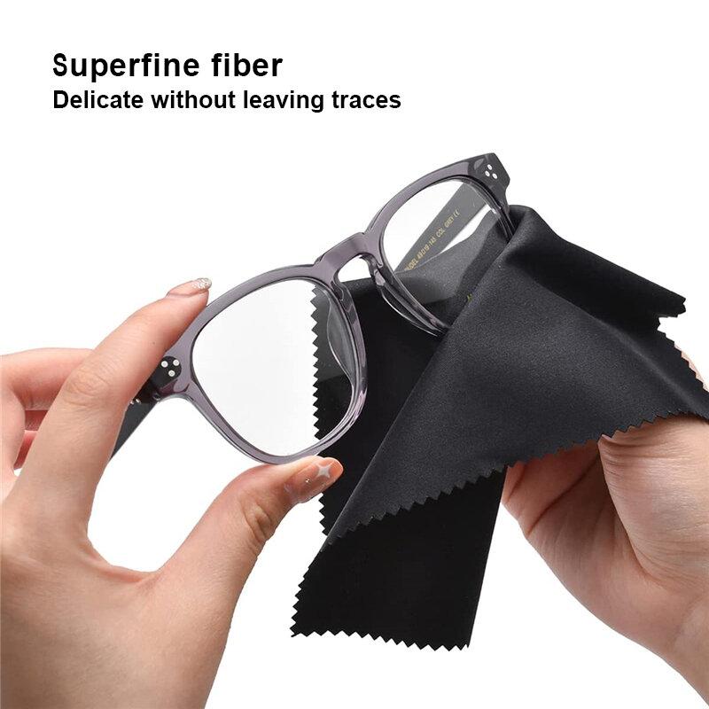 20 قطعة ستوكات تنظيف النظارات الملابس للأسطح الحساسة العدسات نظارات شاشات هاتف محمول عدسات الكاميرا مجوهرات كليني