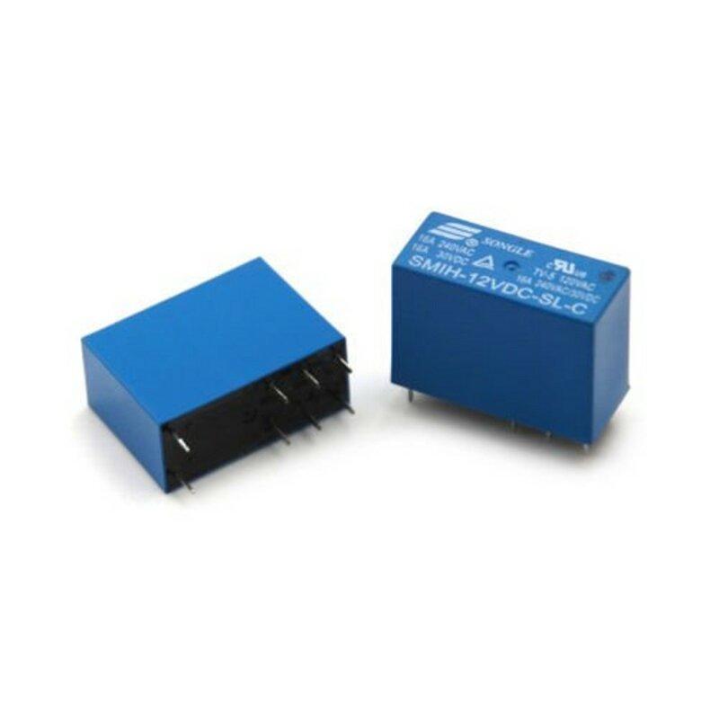 10 قطعة/الوحدة السلطة التبديلات SMIH-12VDC-SL-C 12 فولت 16A 8PIN مجموعة من التحويلات التتابع الأصلي