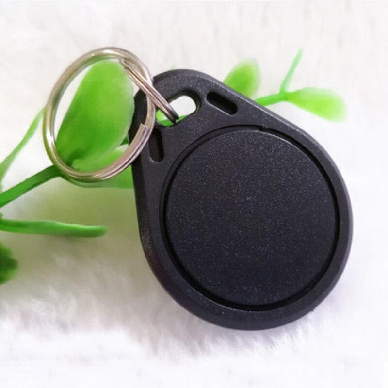 100 قطعة/الحقيبة EM4100 125khz ID الموجودة في قاعدة المفتاح تتفاعل العلامات llaveros llavero بورتا بطاقة مفتاح فوب رمز حلقة القرب