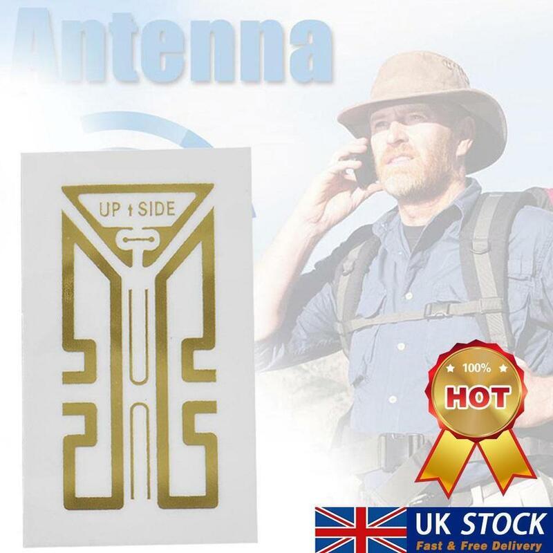 20 قطعة/المجموعة الهاتف المحمول الهاتف إشارة تعزيز إشارة الداعم هوائي ملصقات ملصقات الهاتف الخليوي إشارة تعزيز Z1R8